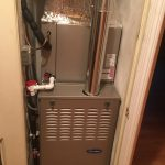 One of our project in closet locate in Boston<br /> Inesatlled the Gas Heating and Air conditioning in closet.