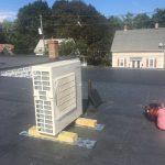 Mitsubishi Ductless unit / heat pump Installed 4 zones heat pump/ ductless unit Address: Main St Winchester