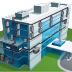 Water-Source Heat Pump<br /> As the most energy efficient HVAC systems on the market, water-source heat pumps (WSHPs) are uniquely simple in design. Heat is moved through an interconnected water loop and either rejected through a cooling tower, or put to work in other areas. Each unit is an independent, packaged system, eliminating the chance of a total system failure. If one unit goes down, the other units are not affected. Conveniently located above the ceiling or in a closet, units can be easily accessed. <br /> WSHPs are ideal for a wide range of building types including office buildings, apartment buildings, hotels, condominiums, schools and much more.